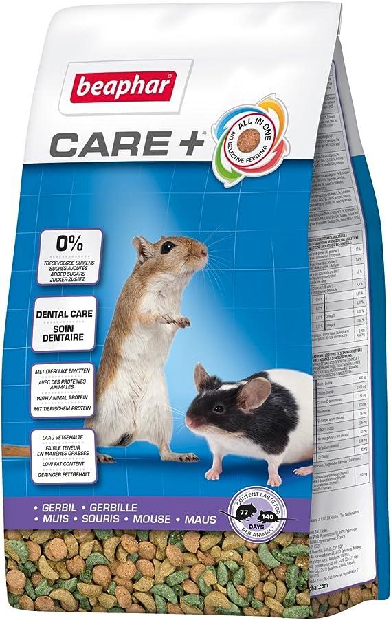 Beaphar Care + Gerbil & ratón, Completo para Alimentos ...