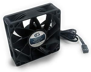 Coolerguys 80mm (80X80X25) High Airflow Waterproof IP67 12v Fan