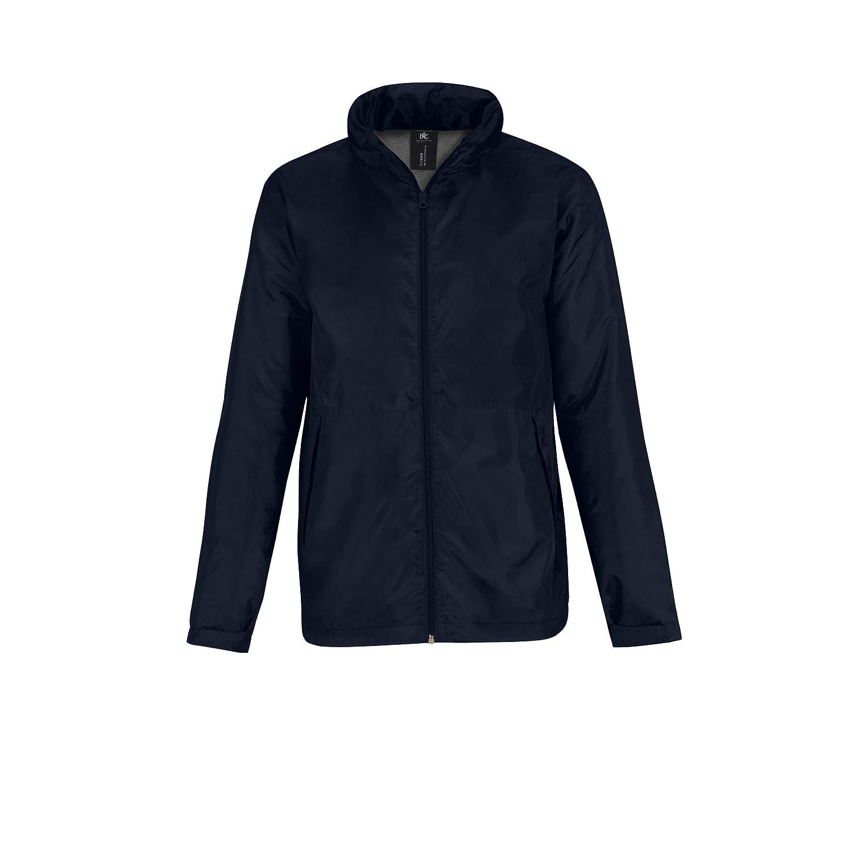 B&C Hooded Herren Multi Active Jacke mit Kapuze, mit Fleece-Innenfutter:  Amazon.de: Bekleidung