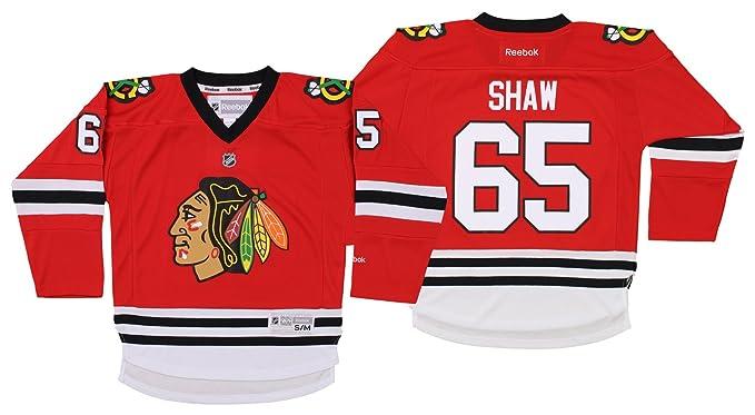 detailing 4100c 9ce70 Amazon.com : NHL Youth's Chicago Blackhawks Andrew Shaw ...