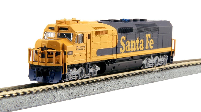 Spur N - Kato Diesellok EMD SDP40F Santa Fe