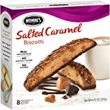 Nonni's Biscotti, Salted Caramel, 8 Count, 6.72 Ounce