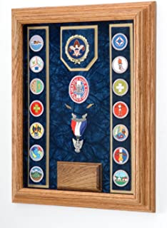 product image for Military Medal Awards Display Case - 12x16 Shadow Box (Blue/USAF) All Military Branch Avail.