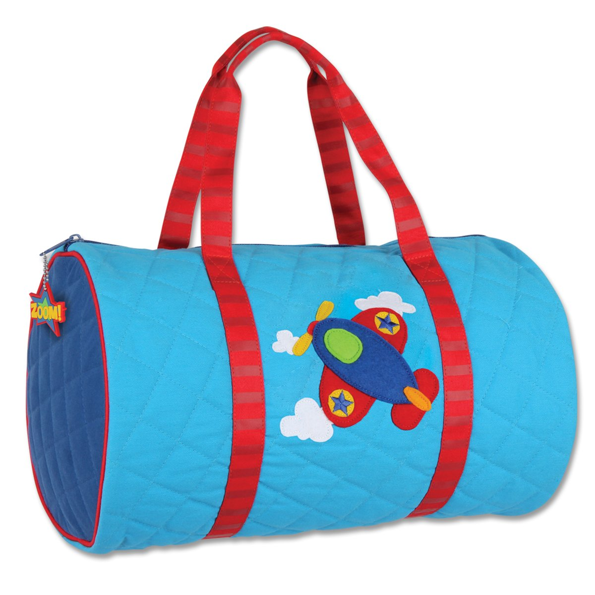 Stephen Joseph Quilted Duffle, Airplane