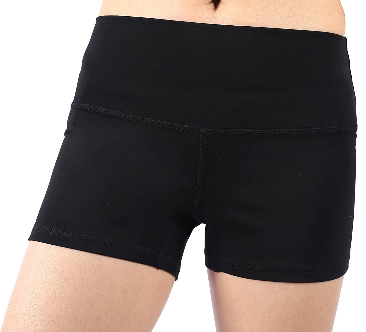 EAST HONG Women's Yoga Shorts Fitness Running Shorts