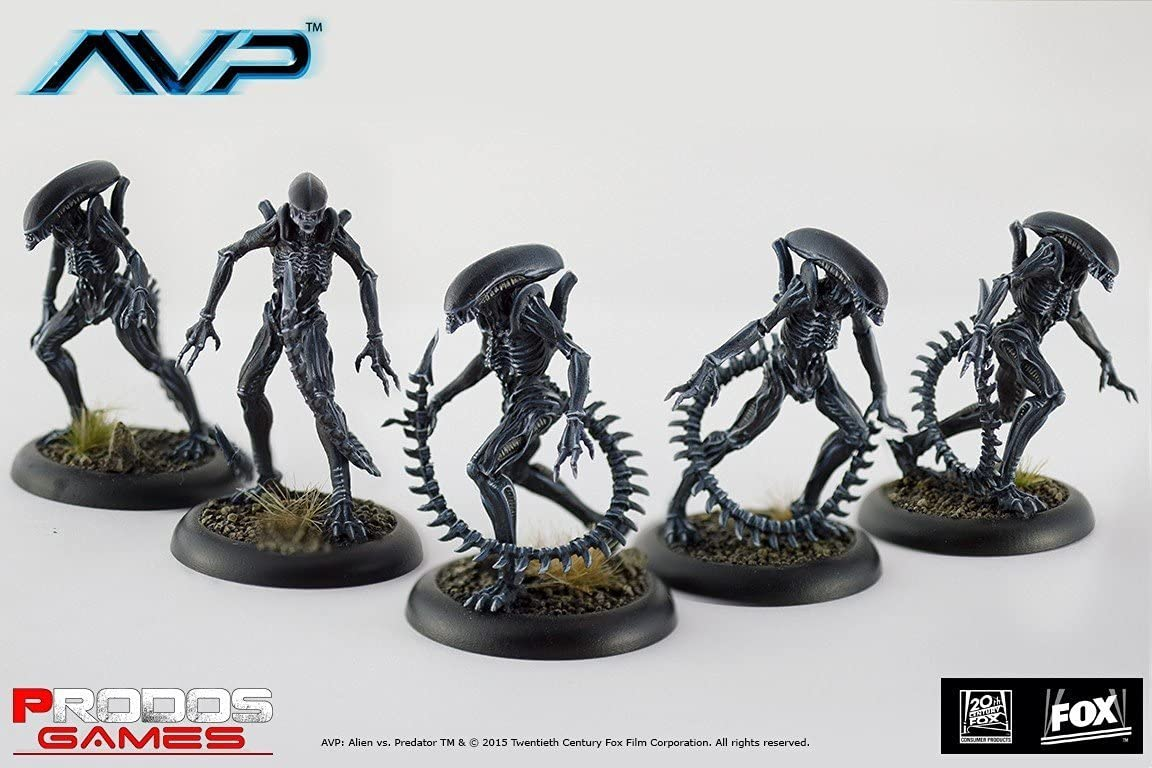 Alien Vs Predator Juego de Mesa The Hunt Begins Expansion Pack Alien Infants *Edición Inglés*: Amazon.es: Juguetes y juegos