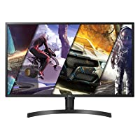 LG 32UK550-B 32 Inch 4K UHD Monitor with Radeon Freesync Technology and HDR 10,Black