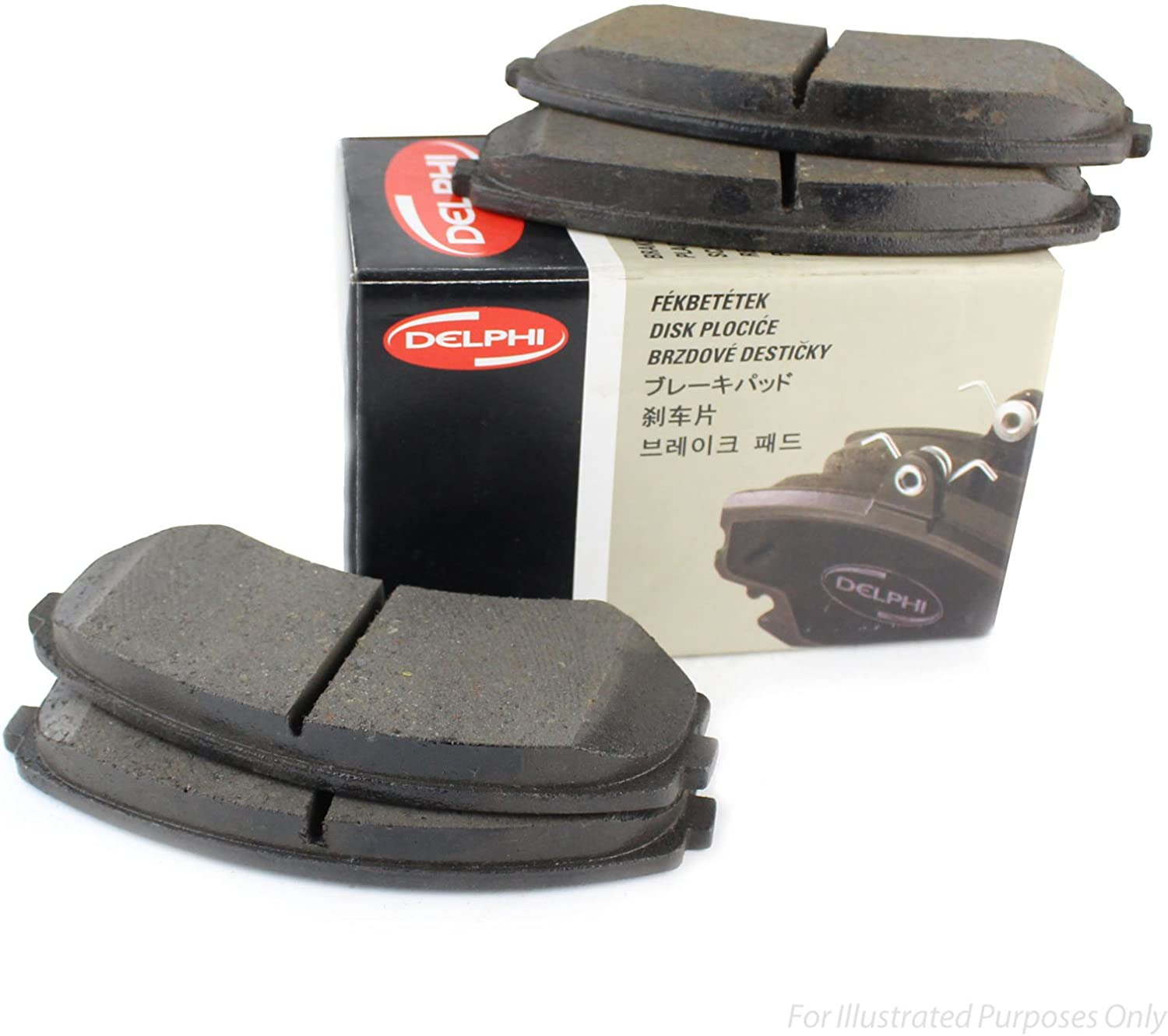 Delphi LP1541 Car Brake Pads