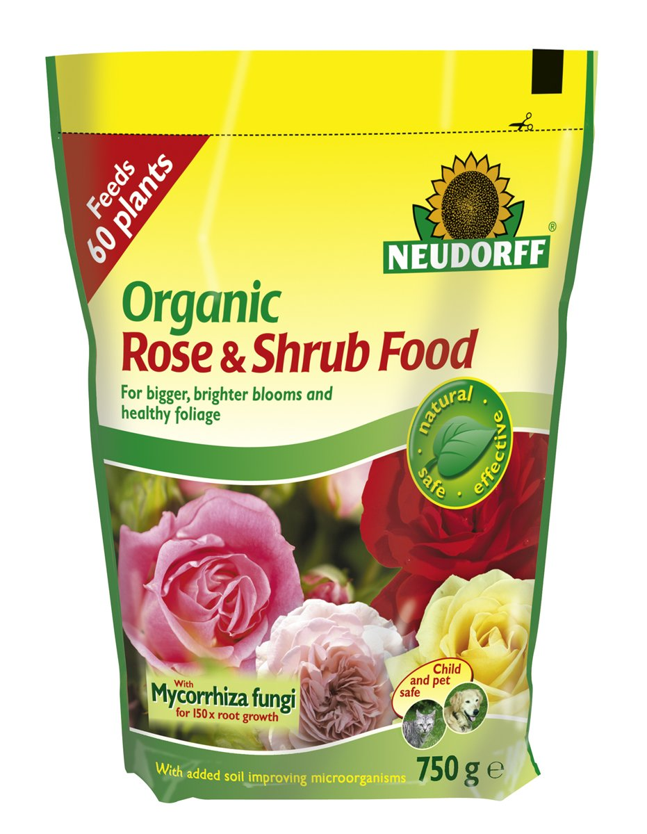 Neudorff Organic Rose and Shrub Plant Food 750g Solus Garden and Leisure Ltd 613629