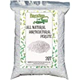 Horticultural Perlite 2 Quart Bag - All Natural Soil Additive for Indoor & Outdoor Plants, Improves Drainage, Aeration, and G
