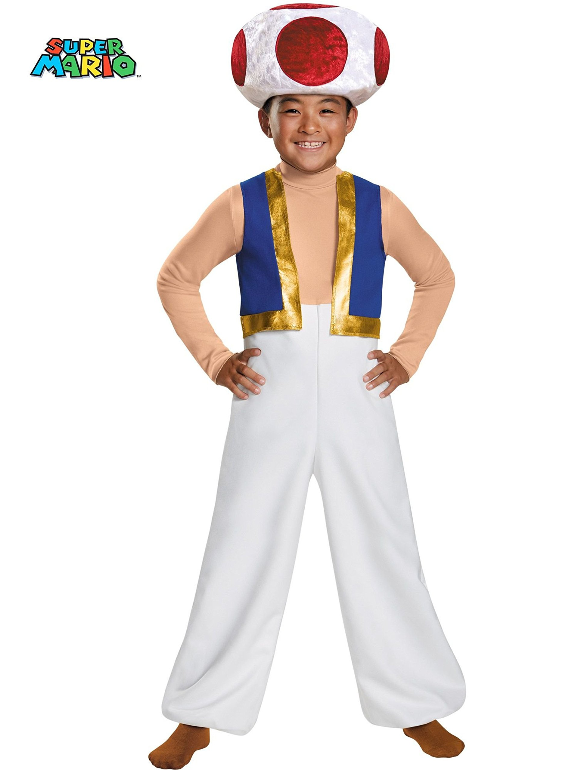 Deluxe Toad Child Costume - Small
