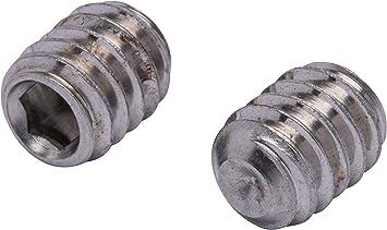 Plain Center AISI 304 Stainless Steel Hanger Bolts 1//4-20 X 6 18-8 100 pcs