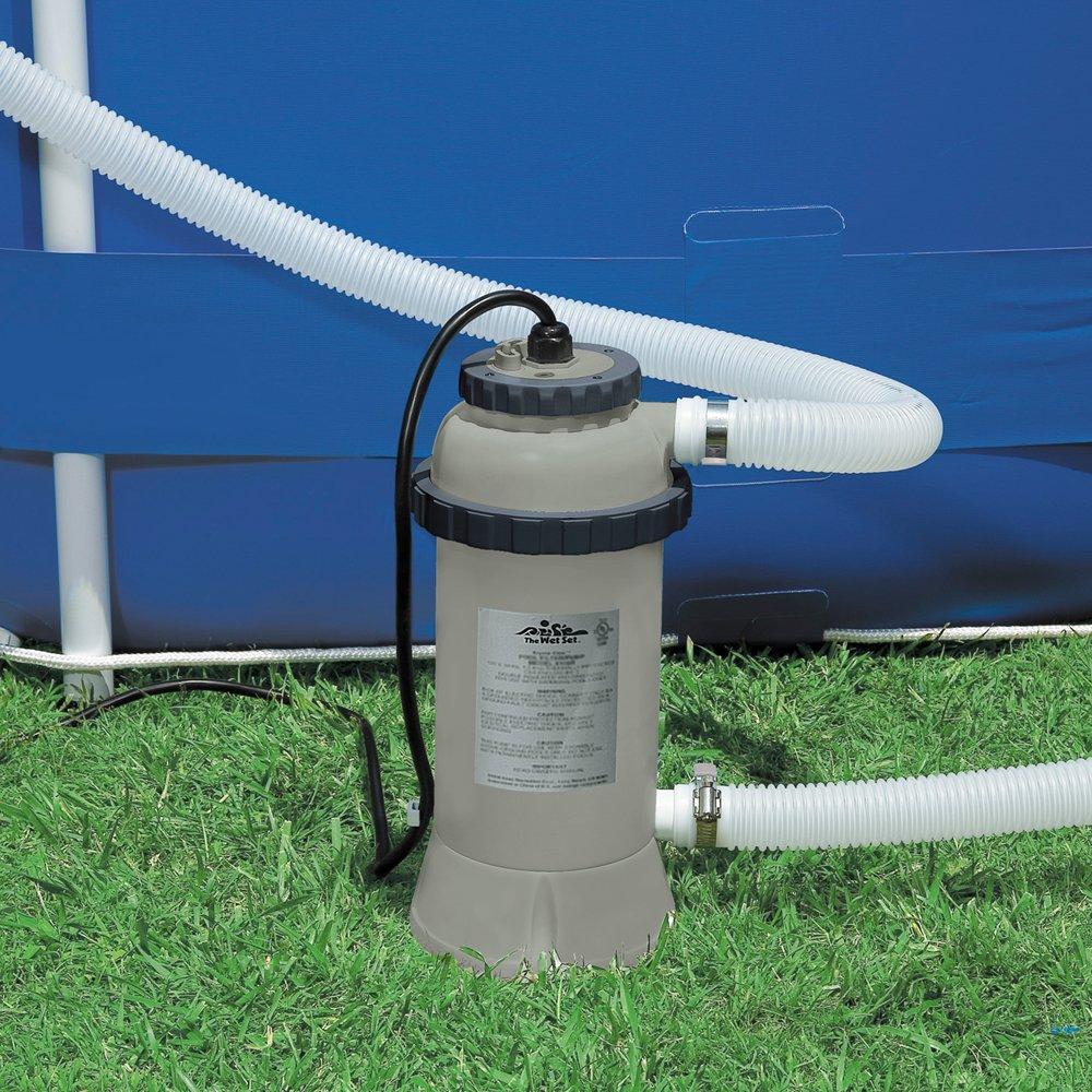 Intex 28684 - Calentador eléctrico para piscinas de hasta 457 cm: Amazon.es: Jardín