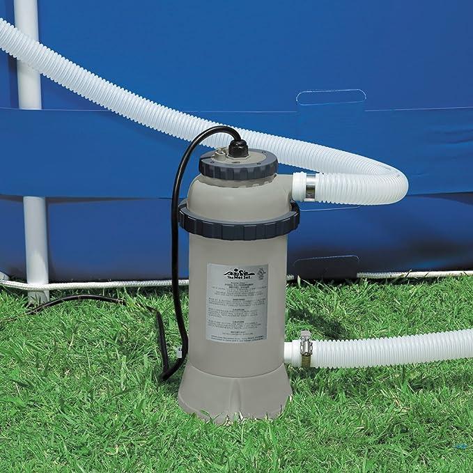 Intex - Calentador eléctrico Intex para piscinas de hasta 457 cm - 28684: Amazon.es: Jardín