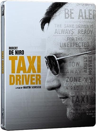 Taxi Driver: Edición limitada Blu Ray Steelbook Incluye ultravioleta Copia libre región: Amazon.es: Cine y Series TV