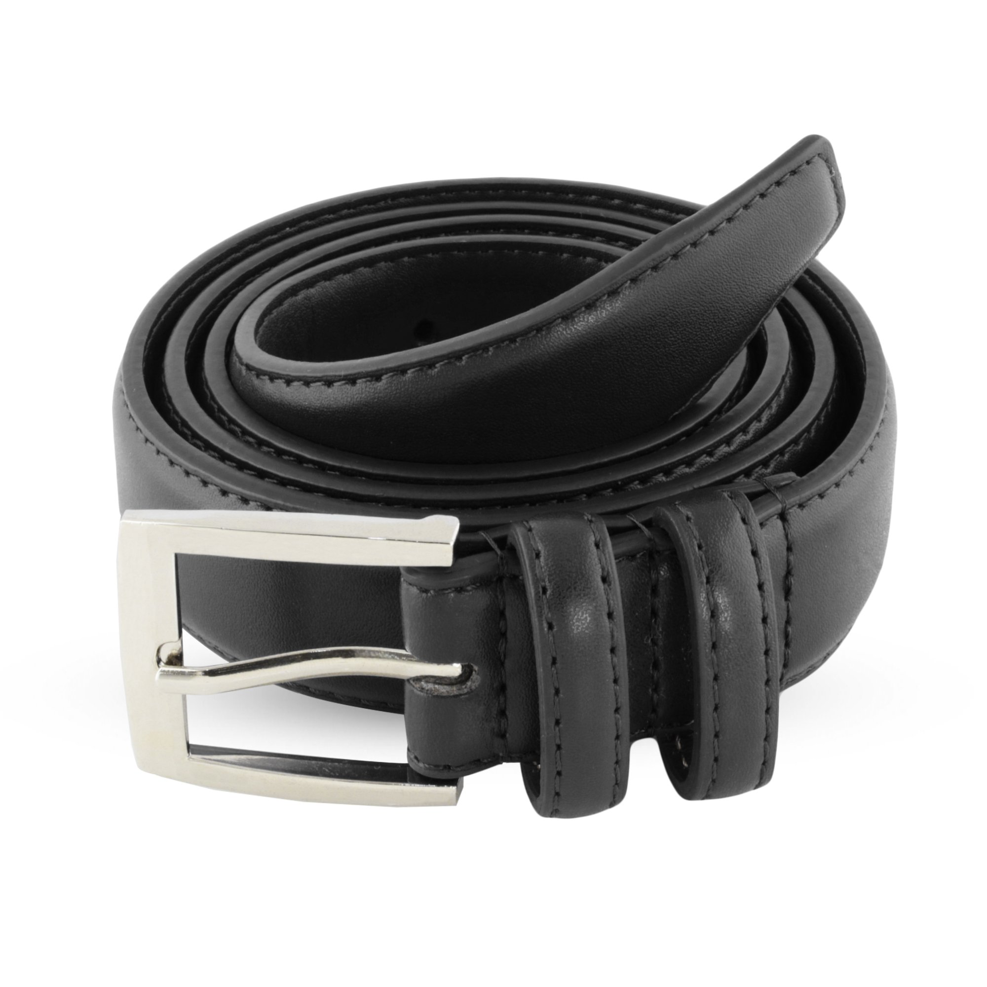 Leather Belts For Men - Mens Black Belt - 1.25'' Dress & Casual Men's Belt in Gift Bag - 36