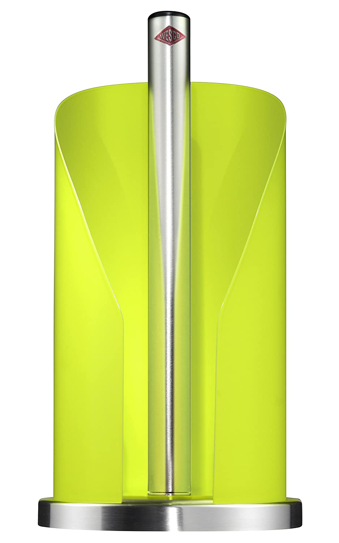 Gr/ün Wesco Rollenhalter K/üchenrollenhalter Farbe: Limegreen