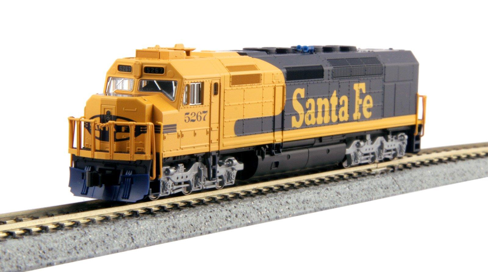 Kato 176-9213-DCC N Scale SF EMD SDP40F #5267