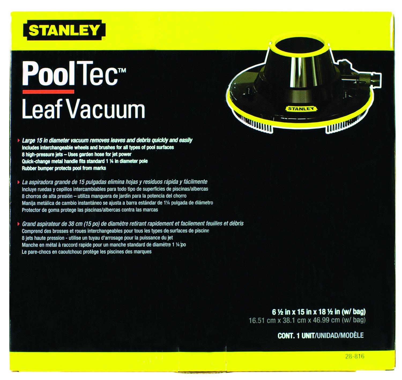 amazon com stanley 28816 leaf vacuum swimming pool handheld
