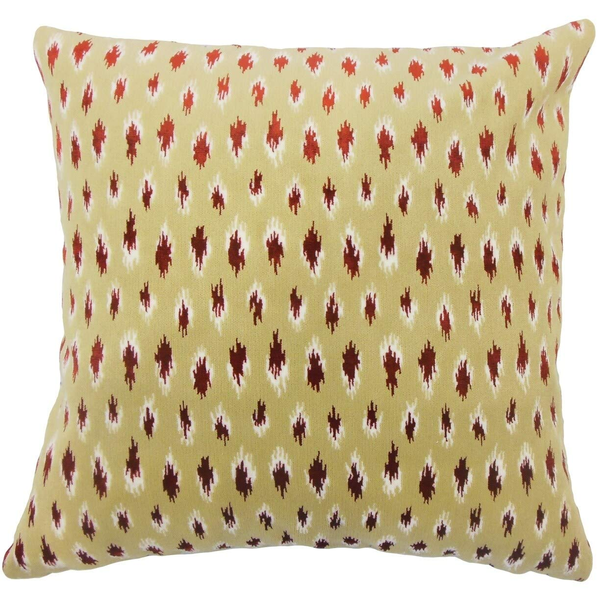 The Pillow Collection Elyes Geometric Rain Down Filled Throw Pillow Home Kitchen Decorative Pillows Inserts Covers