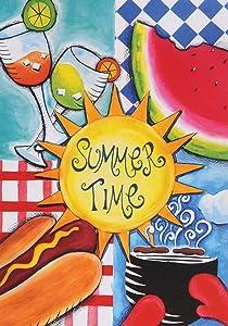 """Toland Home Garden 112611 Summer Fun Flag, Garden (12.5"""" x 18"""")"""