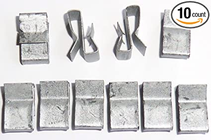 Amazon.com : Trailer Wiring Clips - 10 Per Pack - Attach Wiring to ...