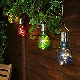 Sumen Solar Bulb Lights Outdoor Rotatable LED Light Lamp Bulb