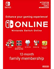 Nintendo Switch Online Membership - 12 Month Family Membership | Switch - Download Code