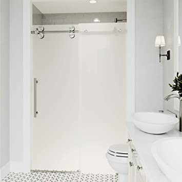 sans porte de douche coulissante avec 375 - Douche Sans Porte
