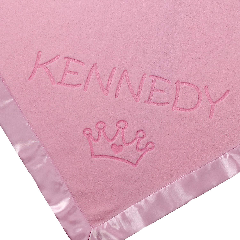 Custom Catch Princess Baby Blanket for Girls Receiving Blankets Toddler Girl Crib Bedding