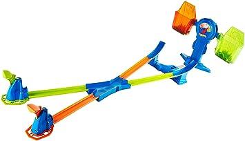 Hot Wheels Báscula superacrobática, Accesorios para Pistas de Coches Mattel FRH34