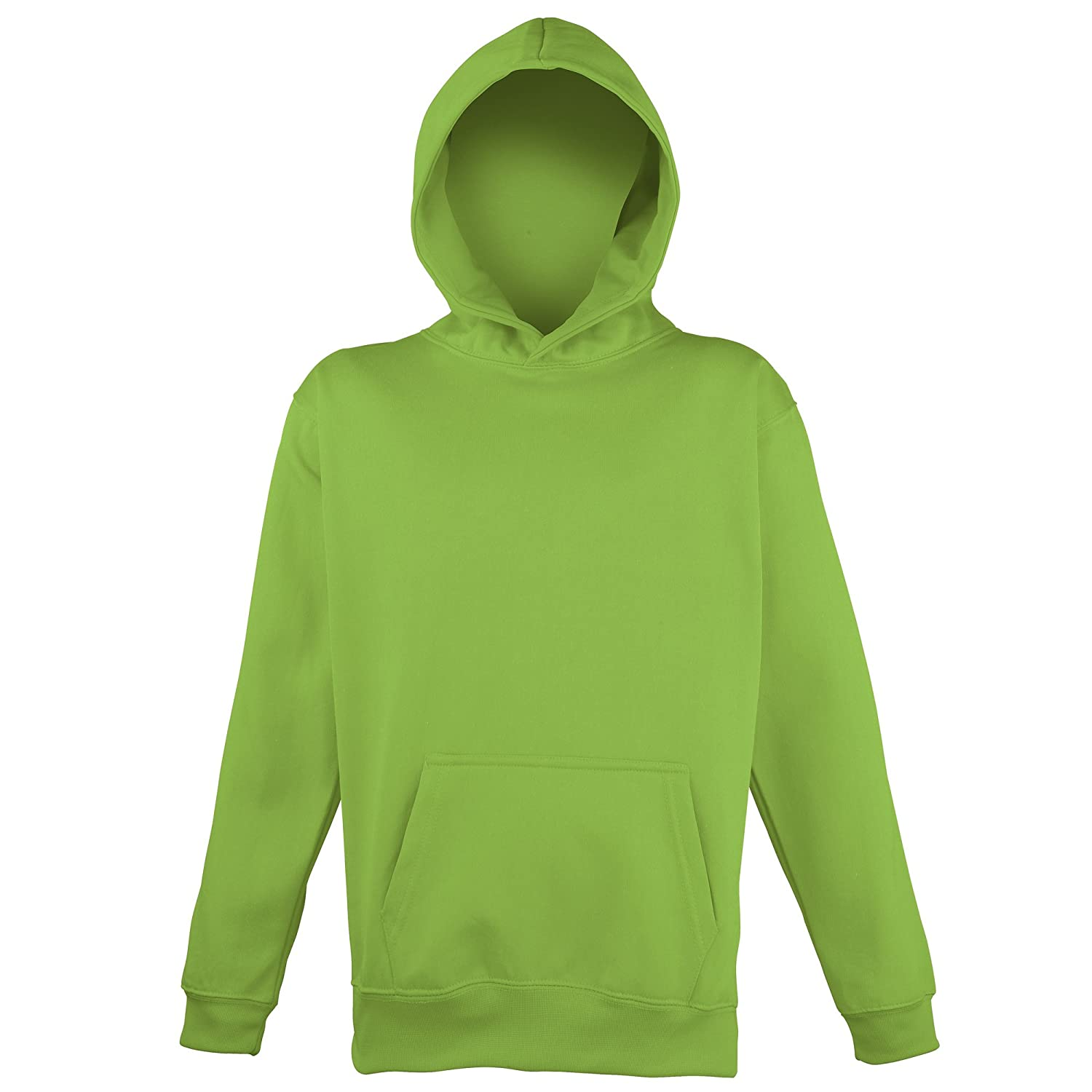 Awdis Childrens Unisex Electric Hooded Sweatshirt/Hoodie/Schoolwear