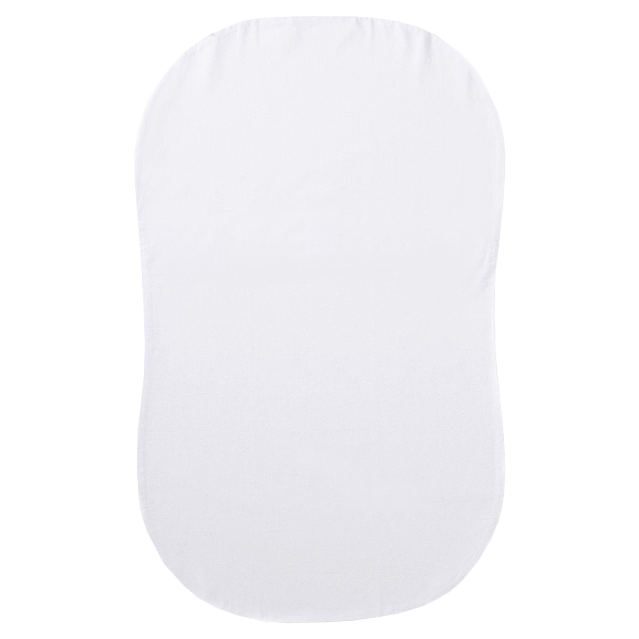 Halo Bassinest Swivel Sleeper Fitted Sheet 100% Organic Cotton, White