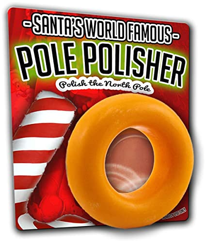 Amazoncom Gearsout Santas Pole Polisher Soap Naughty Gags For Men