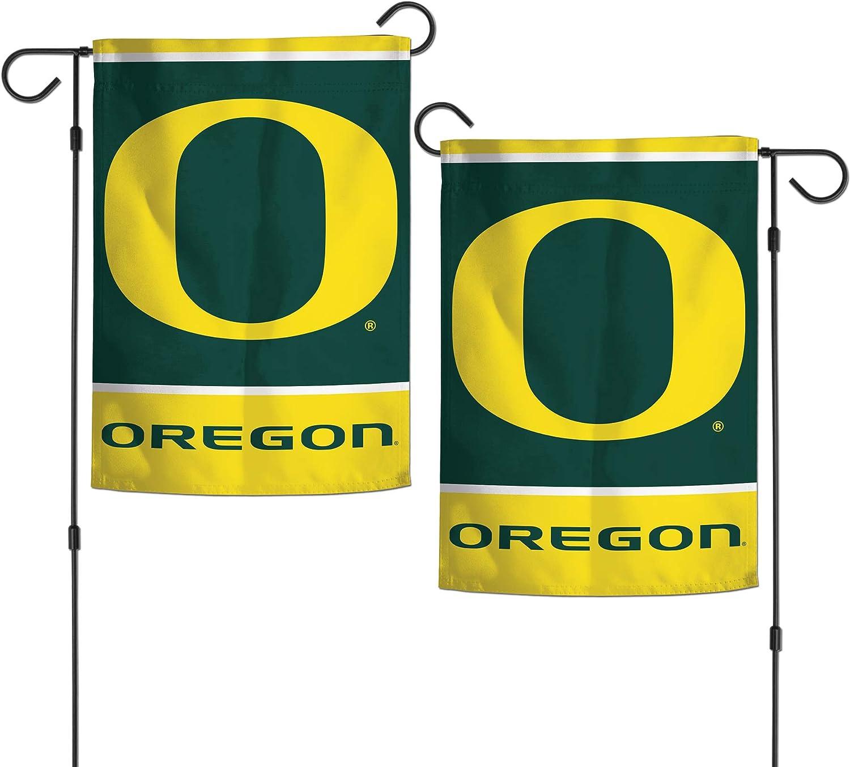 "WinCraft NCAA University of Oregon Ducks 12.5"" x 18"" Inch 2-Sided Garden Flag Logo"