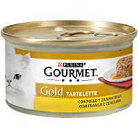 Purina - Gourmet Gold Tartalette Pollo y Zanahoria - Pack de 24 x 85 g - Total 2040 g