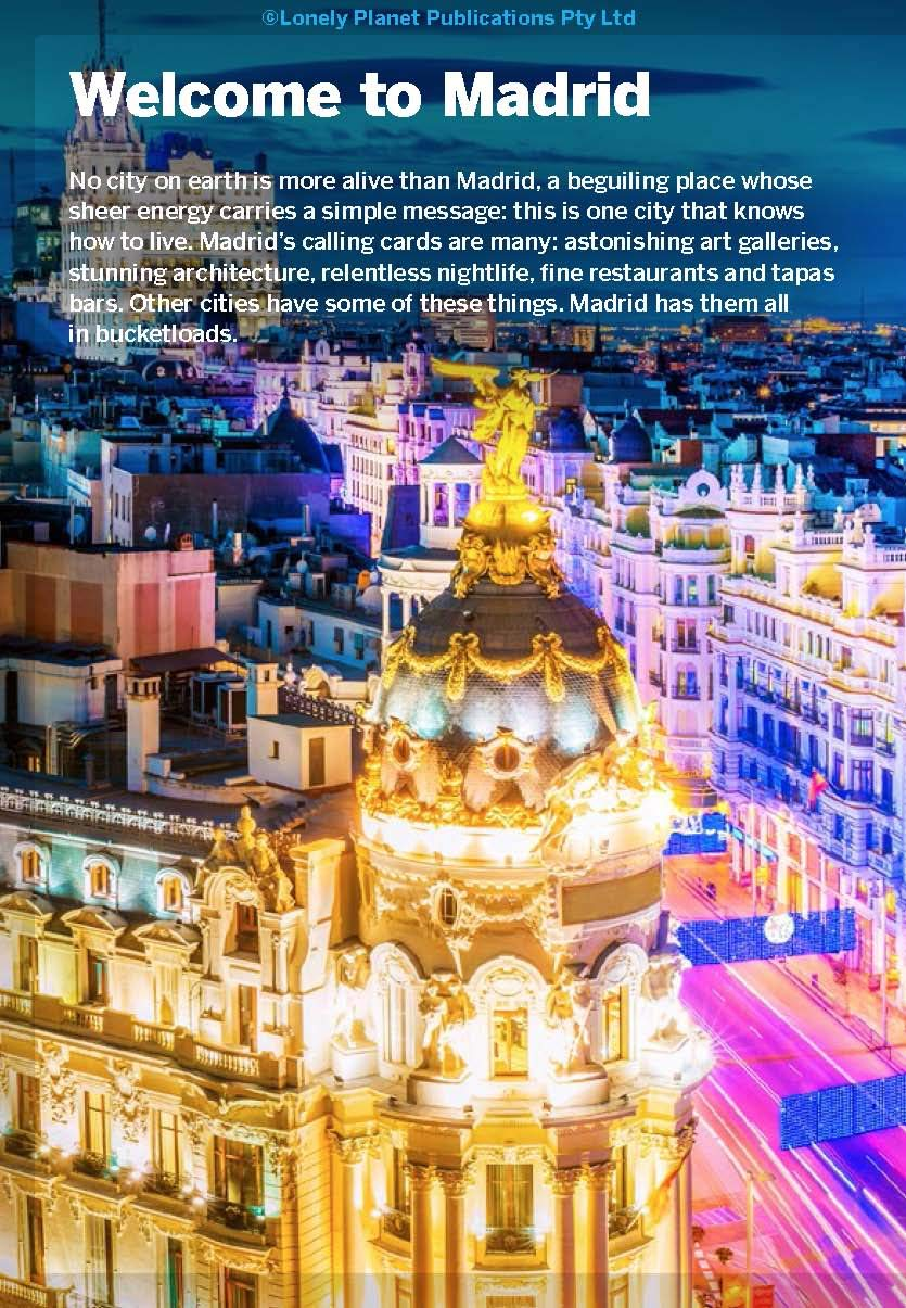 Lonely Planet Pocket Madrid 5th Ed. 5th Edition