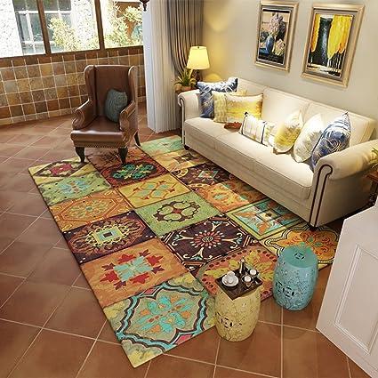 Amazon Bedroom Bedside Carpet Retro Living Room Sofa Rug