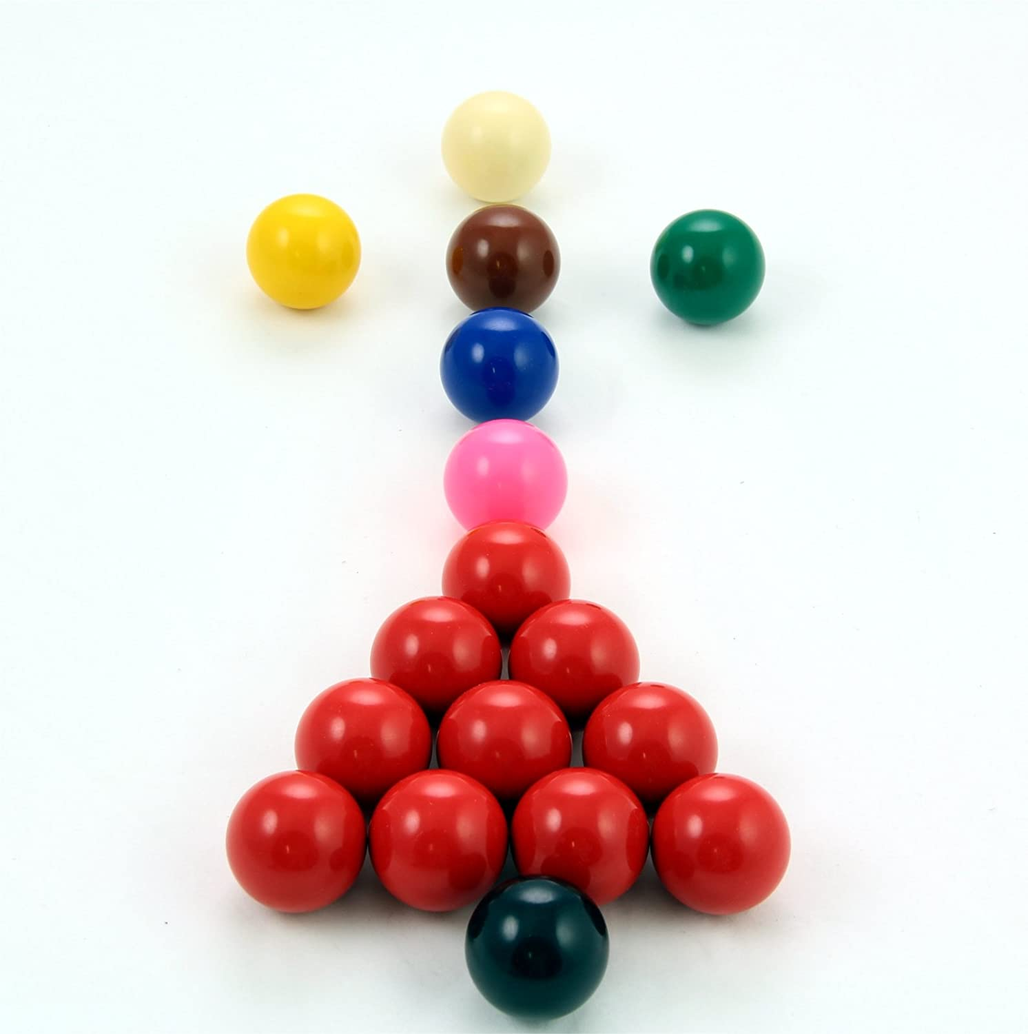 POWERGLIDE / 17 Snooker Ball 1 Inch 1//2 Various,1.5 Inch Unisex