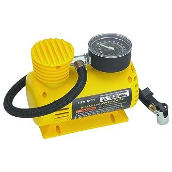 Compresor de aire compacto de 12 V, 250 PSI; base tipo trineo, evita la contaminación del polvo y la suciedad: Amazon.es: Bricolaje y herramientas