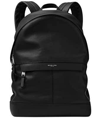 2d406938baa0 Amazon.com | Michael Kors Mens Odin resina Everyday Backpack black ...