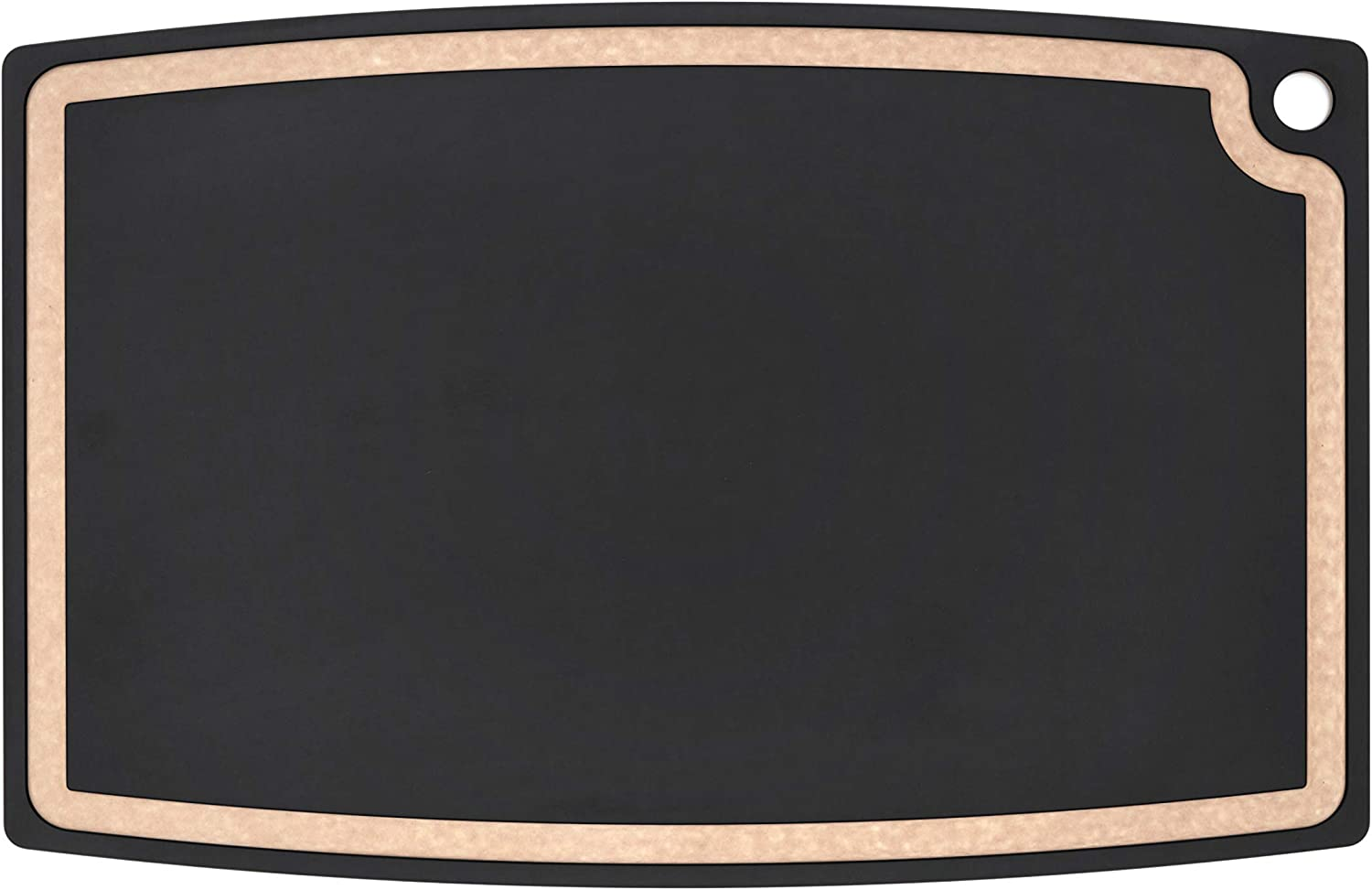 Epicurean Gourmet Series Cutting Board with Juice Groove, 27-Inch by 17.5-Inch, Slate/Natural
