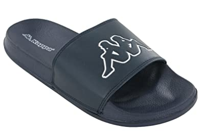 8809ea85a Kappa Mens Slides Slider Sandals Mens Flip Flops UK 6-12 (UK 7/EU 41,  Blue/White/Blue): Amazon.co.uk: Shoes & Bags