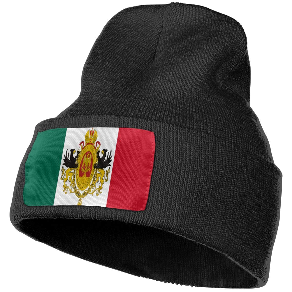 Ruin Mexican Flag Fashion Knitting Hat for Men Women 100/% Acrylic Acid Mas Beanie Hat