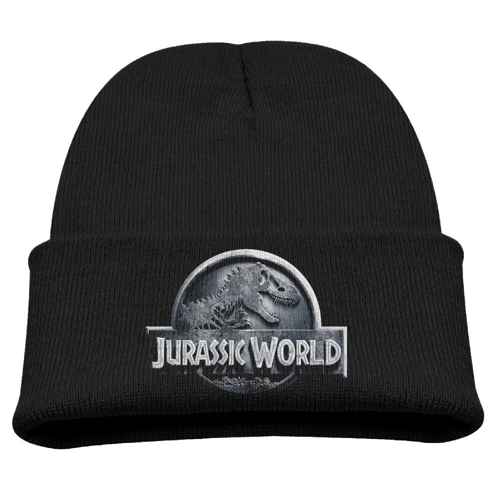 CieMoAs Jurassic World Kids Skull Hat Beanies Cap Black