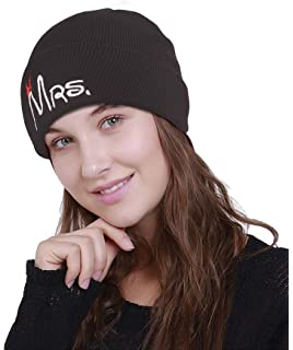 a97ff9d5bf2 DRUNKEN Women s Winter Caps for Women Woolen Plain Skull Knit Beanie Cap  Warm Cap Black Freesize