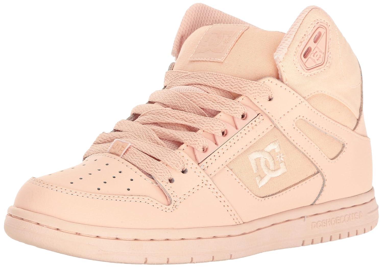 DC Youth Rebound Skate Shoes 10 B US|Peach Cream
