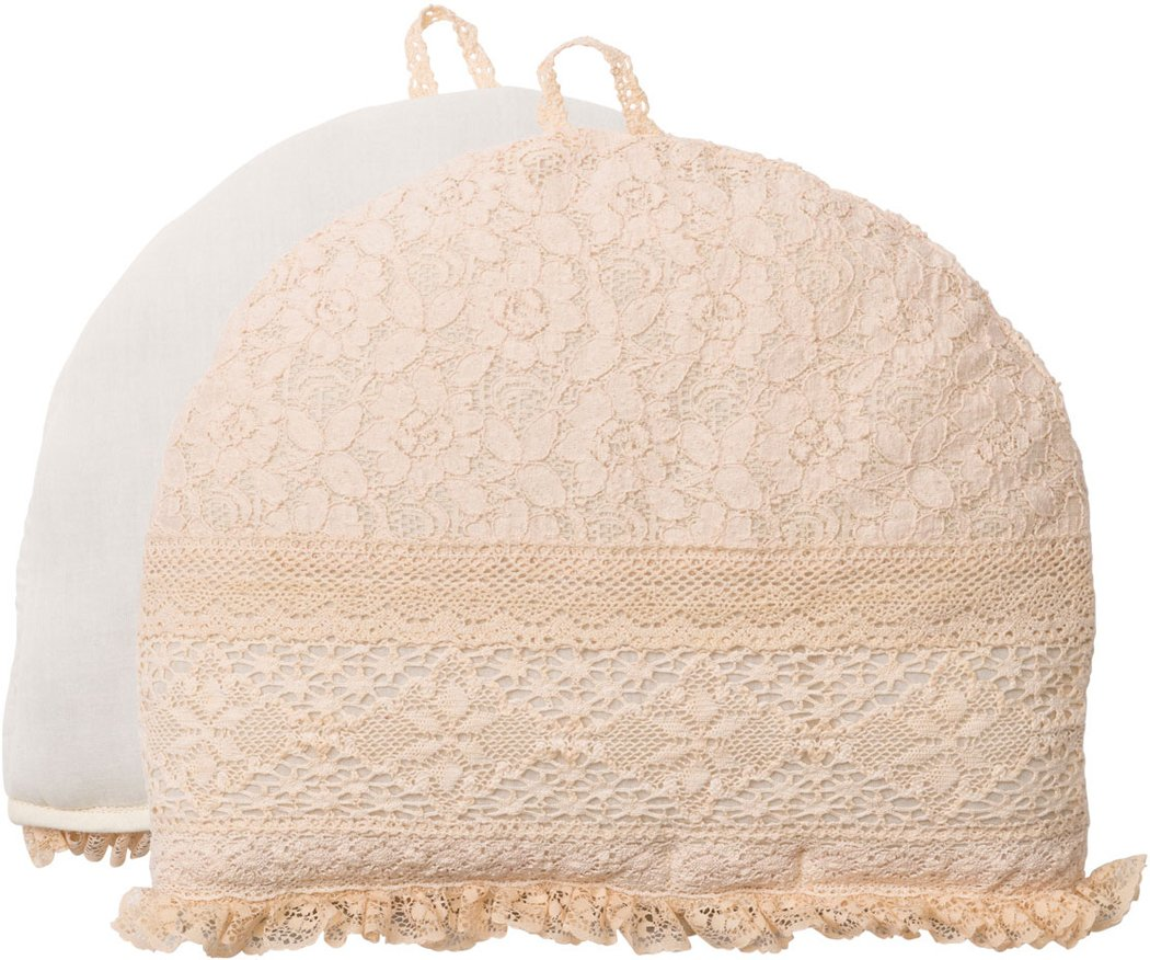 April Cornell Romantic Lace Tea Cozy in Antique Cream by April Cornell
