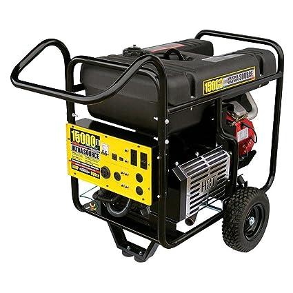 Amazon.com: Generac 4582-2 Ultra Source 15,000 Watt Portable ...