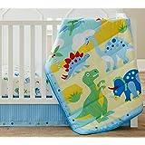 Wildkin 3 Pc Bedding, Crib, Dinosaur Land